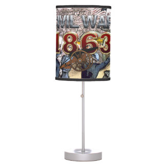 ABH Civil War 1863 Table Lamp