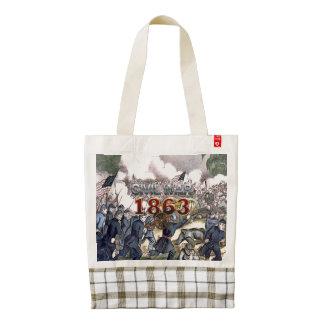 ABH Civil War 1863 Zazzle HEART Tote Bag