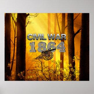 ABH Civil War 1864 Poster