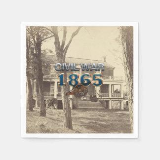 ABH Civil War 1865 Paper Napkin