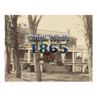 ABH Civil War 1865 Postcard