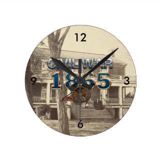 ABH Civil War 1865 Round Clock