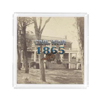 ABH Civil War 1865 Serving Tray