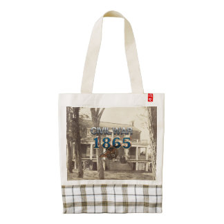ABH Civil War 1865 Zazzle HEART Tote Bag