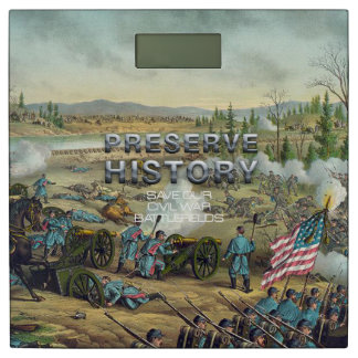 ABH Civil War Battlefield Preservation Bathroom Scale
