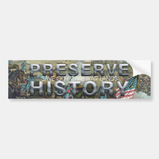 ABH Civil War Battlefield Preservation Bumper Sticker