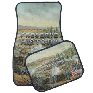 ABH Civil War Battlefield Preservation Car Mat