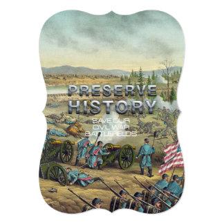 ABH Civil War Battlefield Preservation Card