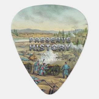 ABH Civil War Battlefield Preservation Guitar Pick