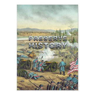 ABH Civil War Battlefield Preservation Magnetic Card