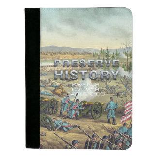 ABH Civil War Battlefield Preservation Padfolio