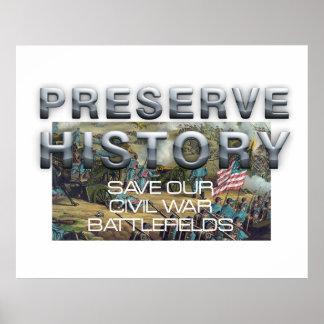 ABH Civil War Battlefield Preservation Poster