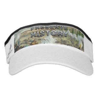 ABH Civil War Battlefield Preservation Visor