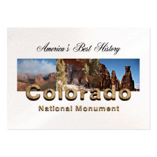 ABH Colorado nanómetro Tarjetas De Visita Grandes