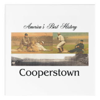 ABH Cooperstown Acrylic Wall Art