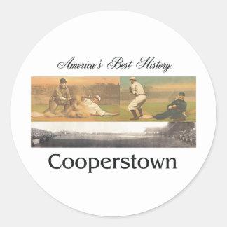 ABH Cooperstown Classic Round Sticker
