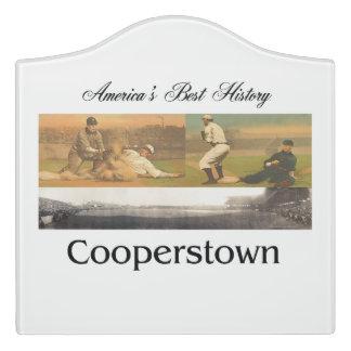 ABH Cooperstown Door Sign