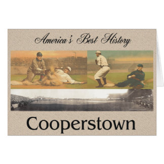 ABH Cooperstown Greeting Card