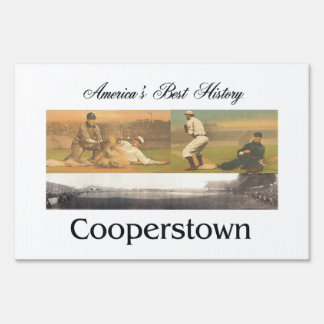 ABH Cooperstown Lawn Sign