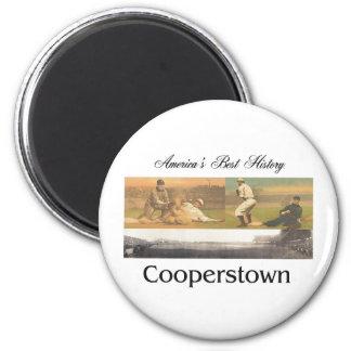 ABH Cooperstown 2 Inch Round Magnet