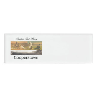 ABH Cooperstown Name Tag