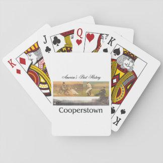 ABH Cooperstown Poker Deck