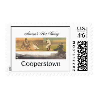ABH Cooperstown Postage Stamps