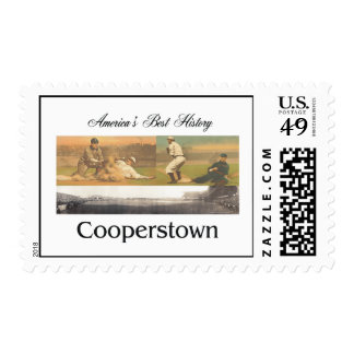 ABH Cooperstown Postage Stamp