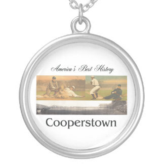 ABH Cooperstown Silver Plated Necklace