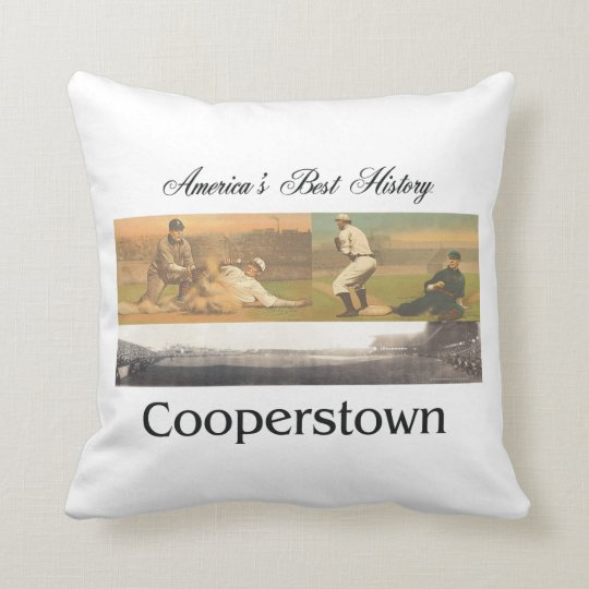 ABH Cooperstown Throw Pillow