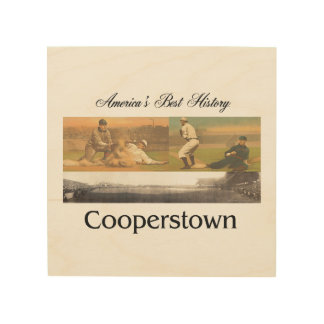 ABH Cooperstown Wood Print