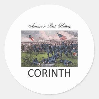ABH Cornith Classic Round Sticker