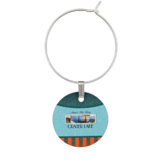 ABH Crater Lake Wine Glass Charm