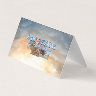 ABH Dinosaur NM Business Card