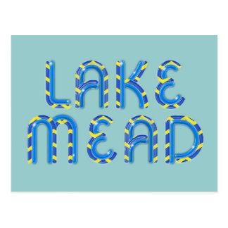 ABH el lago Mead Postales