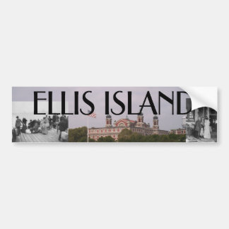 ABH Ellis Island Bumper Sticker