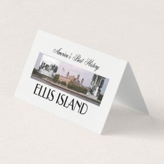 ABH Ellis Island Business Card