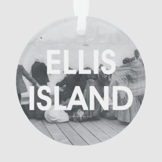 ABH Ellis Island Ornament
