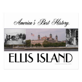 ABH Ellis Island Postcard