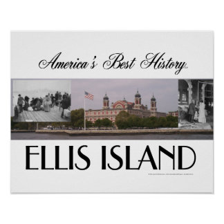 ABH Ellis Island Poster