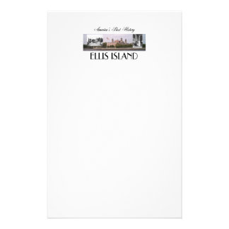 ABH Ellis Island Stationery