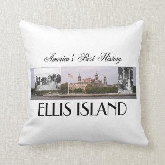 ABH Ellis Island Throw Pillow