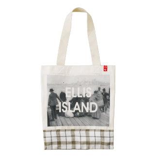 ABH Ellis Island Zazzle HEART Tote Bag