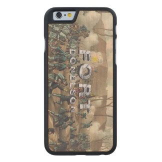 ABH Fort Donelson Carved® Maple iPhone 6 Slim Case