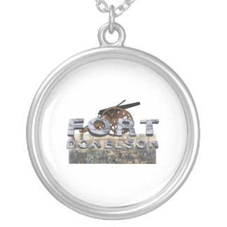 ABH Fort Donelson Round Pendant Necklace