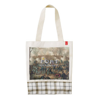 ABH Fort Donelson Zazzle HEART Tote Bag