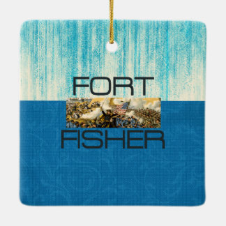 ABH Fort Fisher Ceramic Ornament