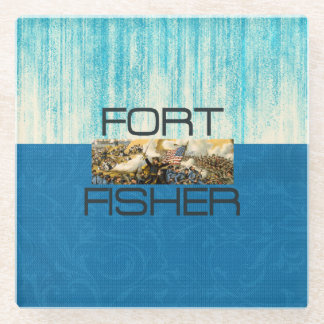 ABH Fort Fisher Glass Coaster