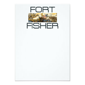 ABH Fort Fisher 5x7 Paper Invitation Card