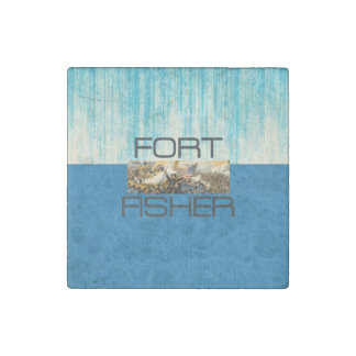 ABH Fort Fisher Stone Magnet